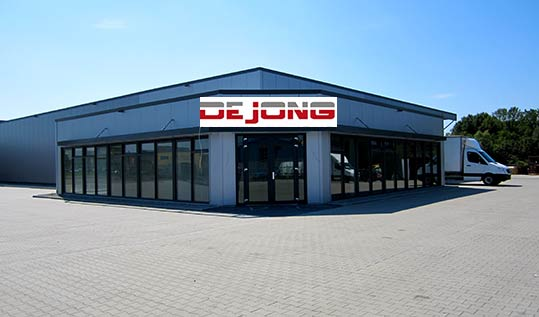 TRUCKS + PARTS, DE JONG - Nortmoor, Germany